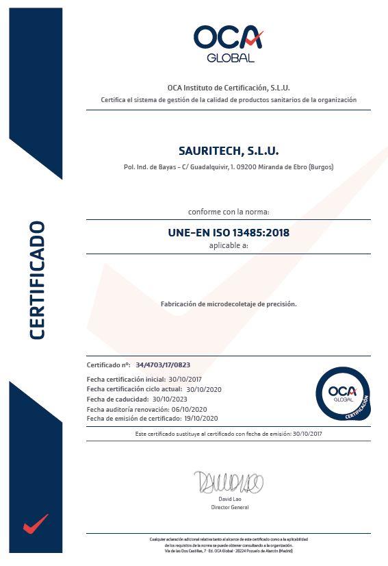 OCA Instituto de Certificación, S.L.U.